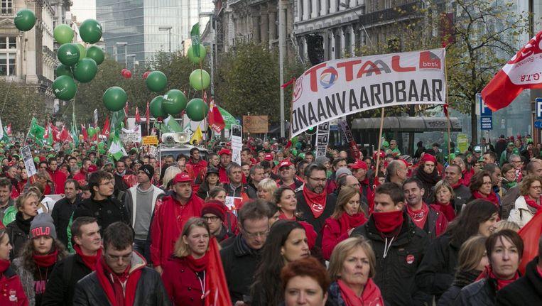De Nationale betoging van 6 november bracht veel volk op de been.
