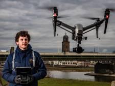 Deventenaar Coen de Jong (25) droomt over dronereizen: 'Een vliegende taxi, dat kan over 5 à 10 jaar'