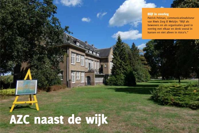De redactie van de Wijkkijker schreef uitgebreid over het toekomstig asielzoekerscentrum.