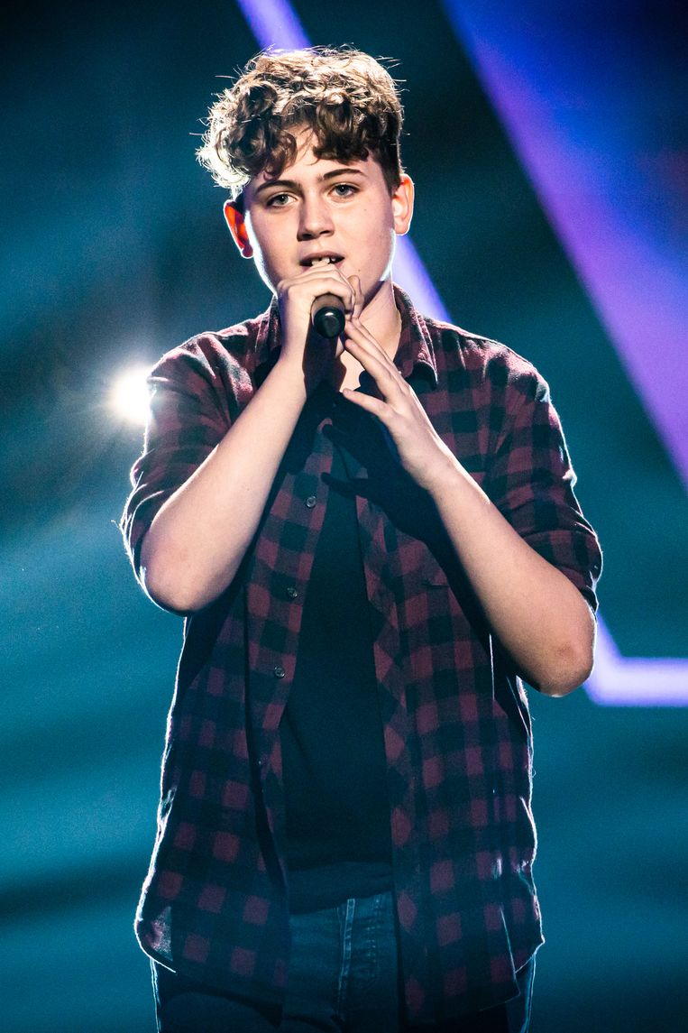 Connor Casier is komende vrijdag te zien in de eerste aflevering van een nieuw seizoen The Voice Kids.