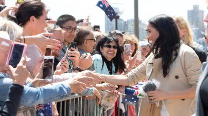 Zwangere Meghan gaat het rustiger aan doen in Sydney