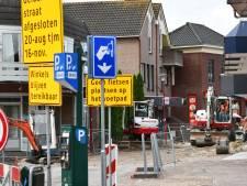 Sinterklaas opent de vernieuwde Geldersestraat in Geldermalsen