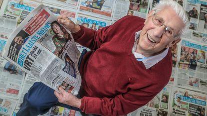 """Onze trouwste lezer viert morgen zijn 100e verjaardag: """"In 88 jaar geen krant gemist"""""""