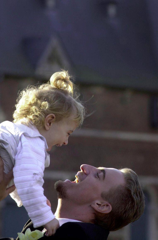 In 2000, op het huwelijk van Frank en zijn nieuwe liefde Sarah Pinacci.