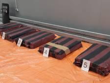 Partij van 374 kilo cocaïne onderschept, uithalers aangehouden