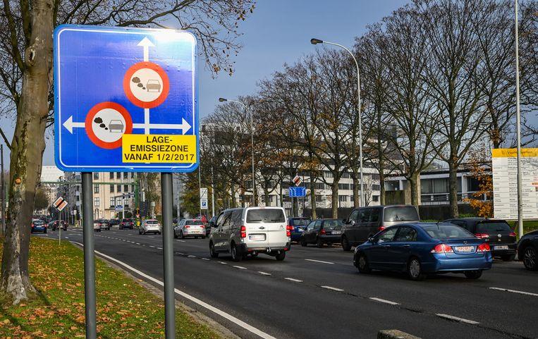 De LEZ in Antwerpen.