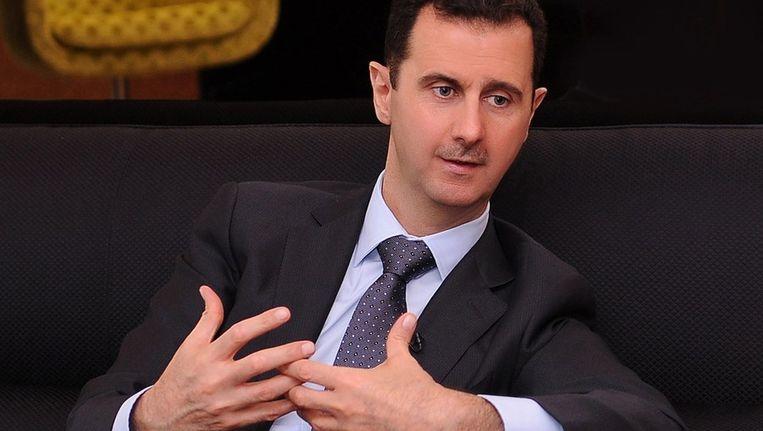 Archieffoto van de Syrische president bashar al-Assad Beeld anp