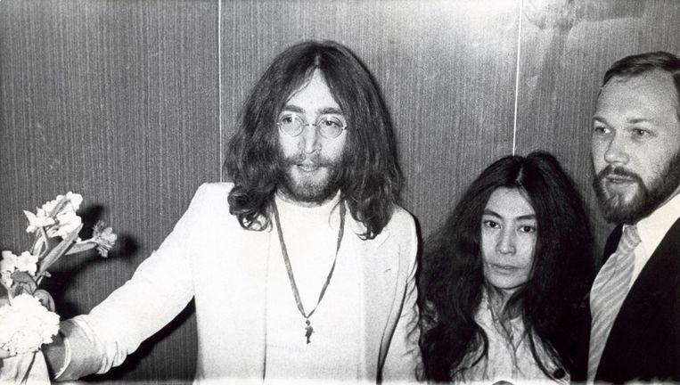 John Lennon en Yoko Ono, 1969. Beeld ANP