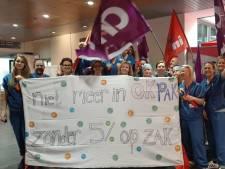 Actie personeel Bravis Bergen op Zoom en Roosendaal: 'Salarisverhoging is echt nodig'