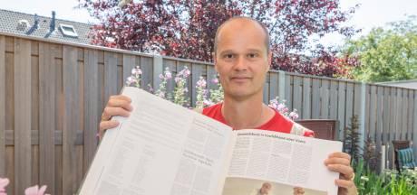 Scheidsrechter Harold van de Ketterij fluit zaterdag zijn 1000ste wedstrijd