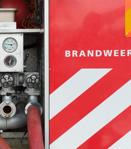 Kleine, korte brand bij bedrijf aan Weitjesweg in Brakel
