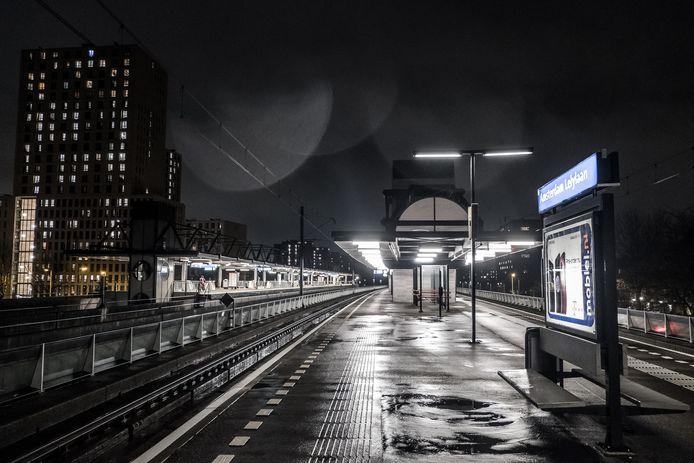 Amsterdammers vinden Station Amsterdam Lelylaan het onveiligste station van de stad.