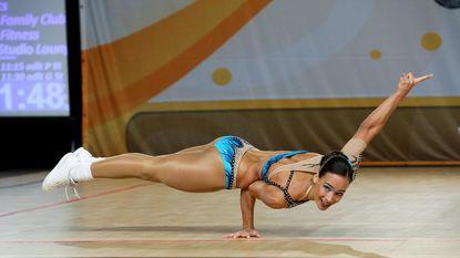 Vlaamse Lissa (23) is fitste ter wereld: wereldtitel aerobics levert haar 100 euro op