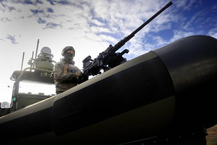 De special forces van het KCT zijn overal inzetbaar. Zelfs in de bergen of waterrijke gebieden.