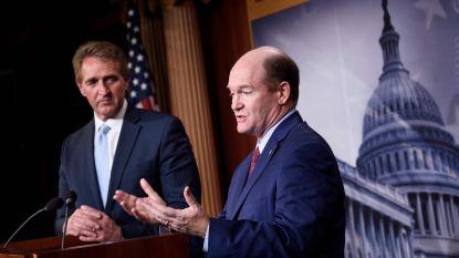 Republikeinse fractieleider Mitch McConnell blokkeert maatregel om Ruslandonderzoek te beschermen na vertrek Sessions