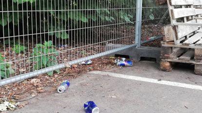 """Zomers skatepark in Gavere pas een dag open en al ten prooi aan zwerfvuilgooiers: """"We zullen hiertegen meteen streng optreden"""""""