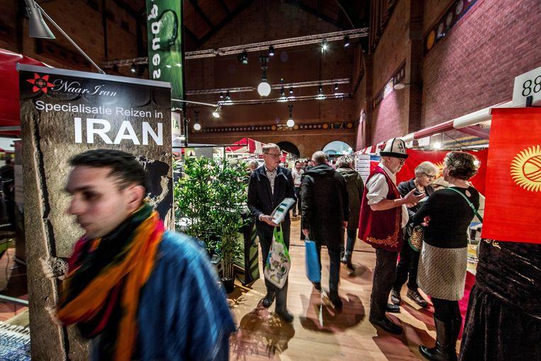 De Amsterdamse vakantiebeurs voor bijzondere reizen 2020. Beeld Jean-Pierre Jans