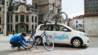 Swapfiets geeft honderd gratis fietsen aan Antwerpse zorgverleners