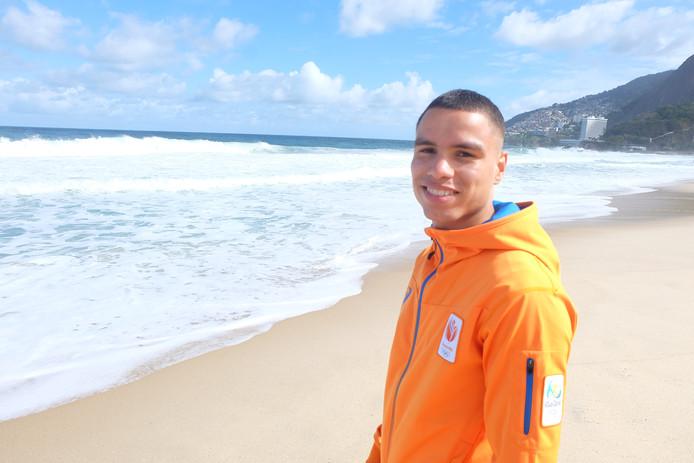 Enrico Lacruz, hier in Rio voor de Olympische Spelen in 2016.  (foto DG)