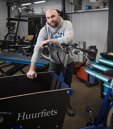 Op maat gemaakte bakfietsen uit Heeten krijgen in heel Europa een tweede leven