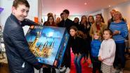 Make a Wish maakt droom Eron waar nadat die nieuw hart kreeg: extra Lego en tentoonstelling van eigen werk