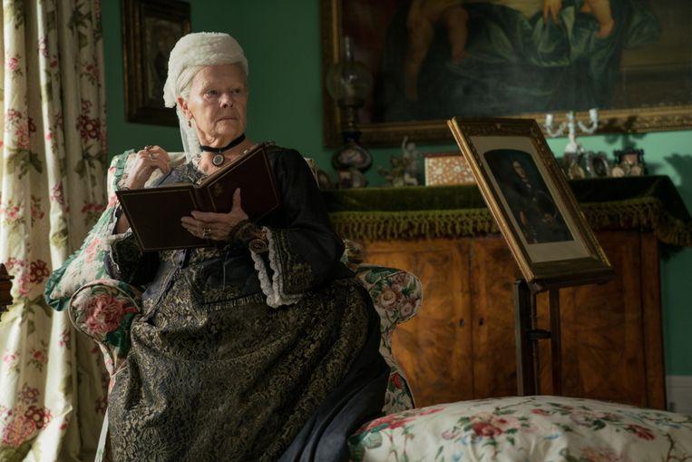 Judi Dench als koningin Victoria in Victoria & Abdul. Beeld