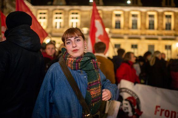 Gabriella Lo Bue komt zelf uit Italië, ze woont al drie jaar in Antwerpen.