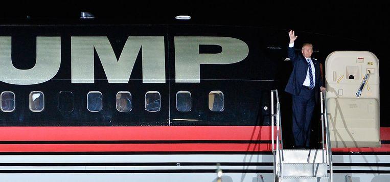 'Donald Trump heeft een populistische versie van de Republikeinse Partij dominant gemaakt. Maar hij heeft haar niet gecreëerd.' Beeld afp