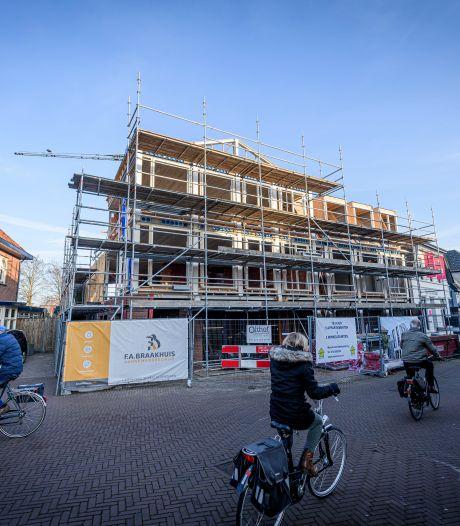 Appartementen Grotestraat Borne staan er al bijna, maar nu mag het ook