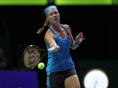 LIVE | Bertens verliest eerste set van Kerber in WTA Finals