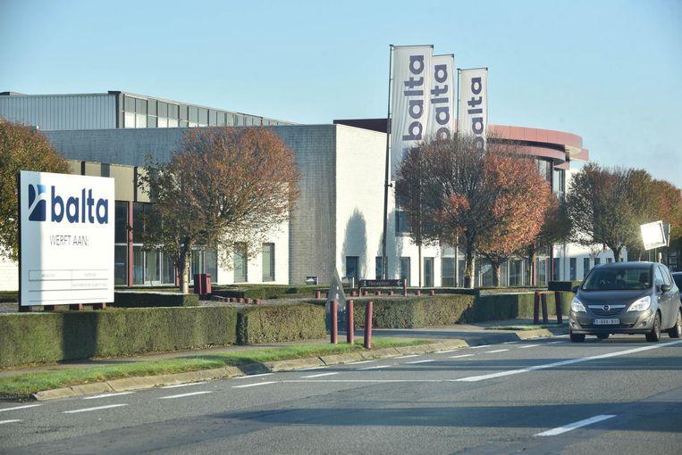 De vestiging van Balta in Oudenaarde.