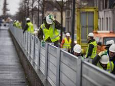 Hoogwater in de IJssel; waterschap houdt Kampen in de gaten