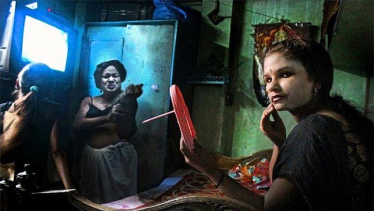 De gewraakte foto van fotojournalist Souvid Datta. Beeld Facebook