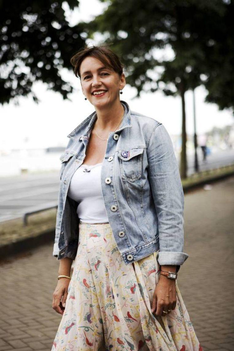 Marja Ruigrok, nummer twee op de lijst van de VVD voor de gemeenteraadsverkiezingen in Amsterdam. Foto Ruud van Zwet Beeld