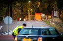 Op de legerbasis in Oldebroek werd onderzoek verricht naar het verdachte pakketje dat Alberto Stegeman achterliet.