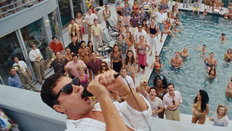 The Wolf of Wall Street Beeld rv
