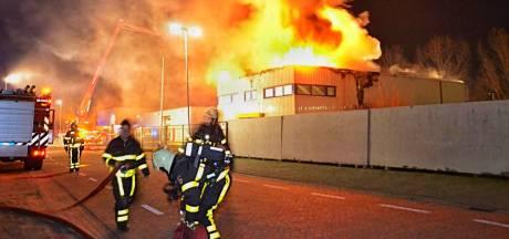 Brand in leegstaand kantoorpand Hoogerheide onder controle