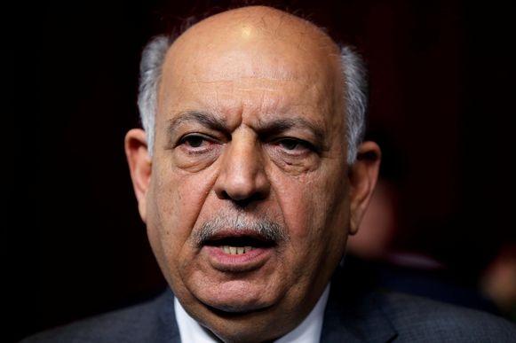 De Iraakse Olieminister Thamer al-Ghadhban.