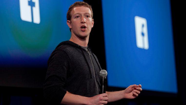 Facebookoprichter Mark Zuckerberg.
