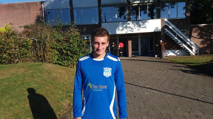 Koen Logen was met vier doelpunten de grote man vanmiddag.