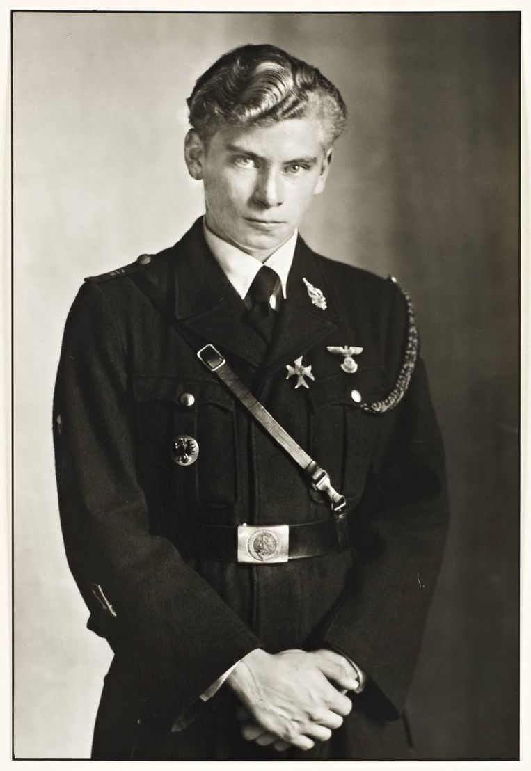 Jonge natonaal-socialist, 1941, August Sander Beeld null
