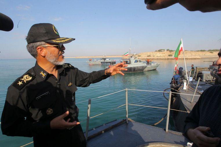De Iraanse commandant Habibollah Sayyari. Beeld REUTERS