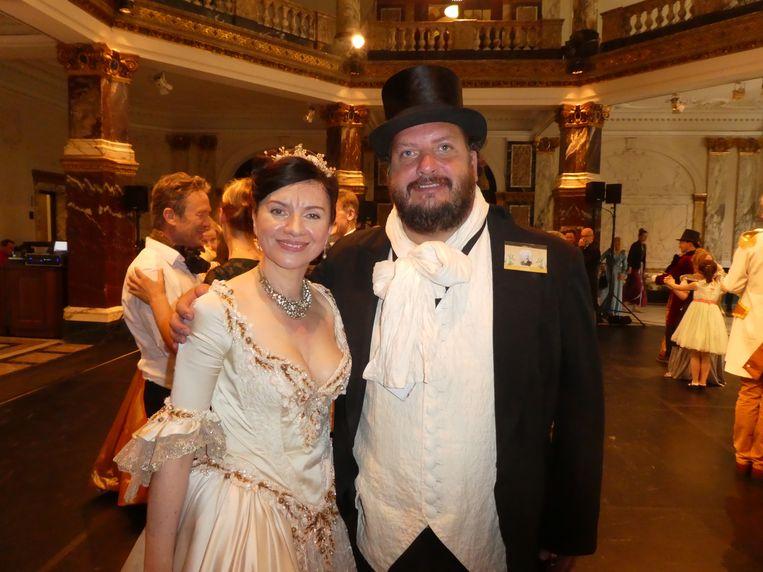 Organisator Tatiana Chevtchouk en voorzitter Hedde Zeijlstra: