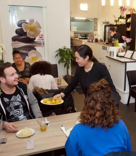 Surinaams voor flinke eters bij Faffie in Arnhem