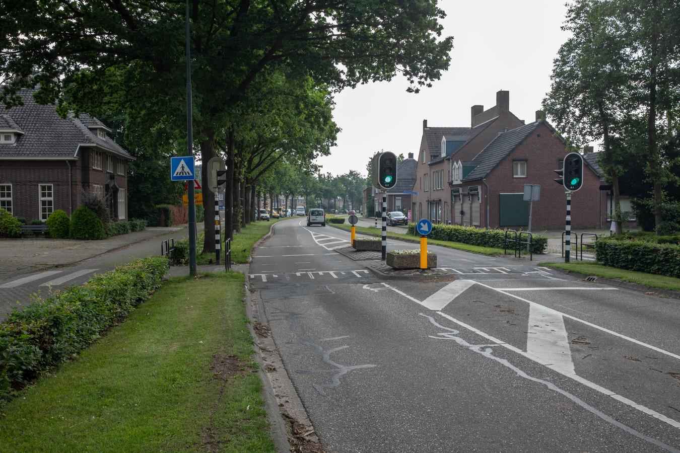 Eindhovenseweg in Steensel.