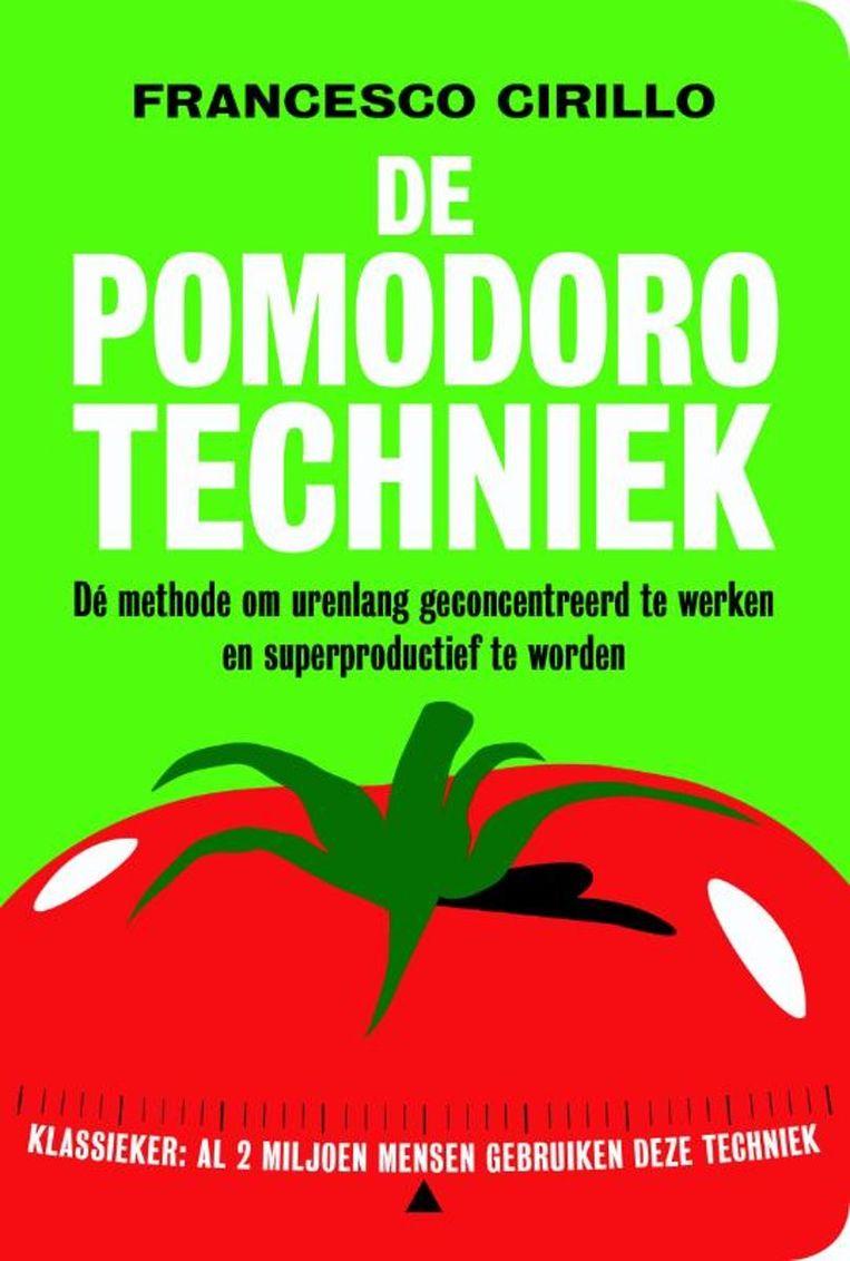2 sterren  Francesco Cirillo: De Pomodoro-techniek – Dé methode om urenlang geconcentreerd te werken en superproductief te worden  Maven Publishing; 200 pagina's; €17,50. Beeld