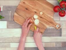 Nooit meer last van schuifende snijplanken dankzij deze tip