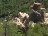 Noord-Korea vernietigt nucleaire testplaats