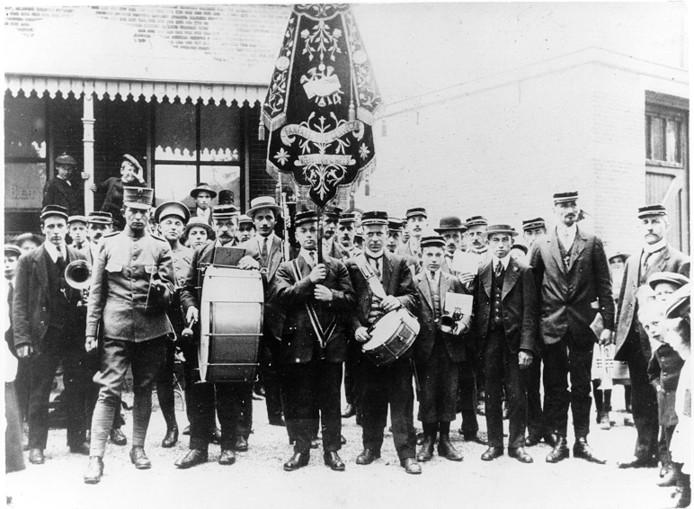 Ons Genoegen uit Hees in 1918.