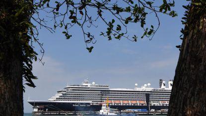 Cruiseschip Westerdam zet koers naar Alaska